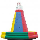 IP001 Inflatable climbing wall